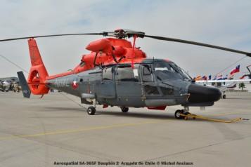 030 Aerospatial SA-365F Dauphin 2 Armada de Chile © Michel Anciaux