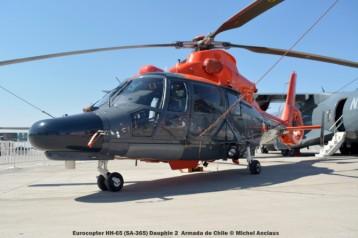 032 Eurocopter HH-65 (SA-365) Dauphin 2 Armada de Chile © Michel Anciaux