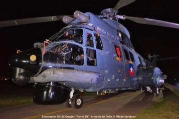 037 Eurocopter SH-32 Cougar ''Naval 76'' Armada de Chile