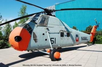 037 Sikorsky SH-34J Seabat ''Naval 51'' Armada de Chile © Michel Anciaux