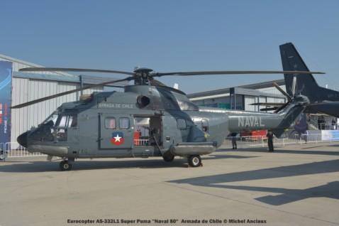 039 Eurocopter AS-332L1 Super Puma ''Naval 80'' Armada de Chile © Michel Anciaux