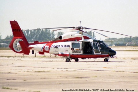 044 Aerospatiale HH-65A Dolphin ''6578'' US Coast Guard © Michel Anciaux