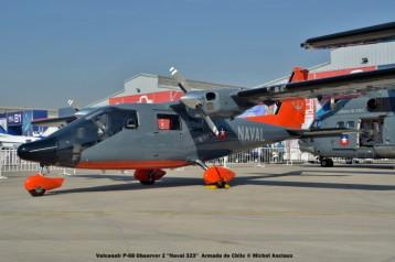052 Vulcanair P-68 Observer 2 ''Naval 323'' Armada de Chile © Michel Anciaux