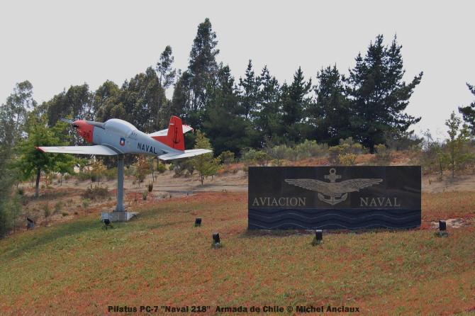 054 Pilatus PC-7 ''218'' Armada de Chile © Michel Anciaux