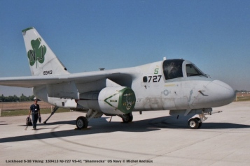 071 Lockheed S-3B Viking 159413 NJ-727 VS-41 '_Shamrocks__ US Navy © Michel Anciaux
