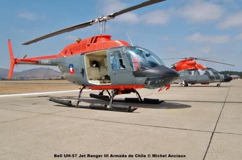 48 Bell UH-57 Jet Ranger III Armada de Chile © Michel Anciaux