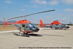 50 Bell UH-57 Jet Ranger III & Aerospatiale SA-365F Dauphin Armada de Chile © Michel Anciaux