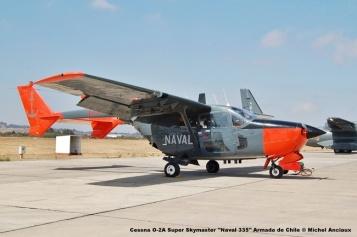 52 Cessna O-2A Super Skymaster ''Naval 335'' Armada de Chile © Michel Anciaux