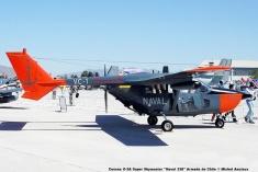 DSC_0003 Cessna O-2A Super Skymaster ''Naval 338'' Armada de Chile © Michel Anciaux
