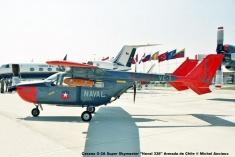 DSC_0004 Cessna O-2A Super Skymaster ''Naval 338'' Armada de Chile © Michel Anciaux