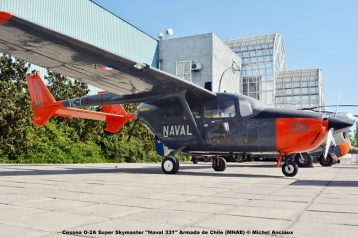 DSC_0012 Cessna O-2A Super Skymaster ''Naval 331'' Armada de Chile (MNAE) © Michel Anciaux
