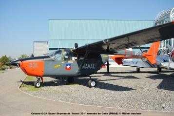 DSC_0021 Cessna O-2A Super Skymaster ''Naval 331'' Armada de Chile (MNAE) © Michel Anciaux