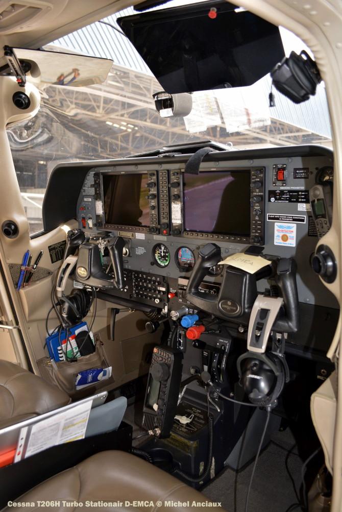 DSC_0192 Cessna T206H Turbo Stationair D-EMCA © Michel Anciaux