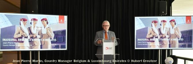 DSC_2849 Jean Pierre Martin, Country Manager Belgium & Luxembourg Emirates © Hubert Creutzer