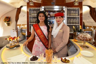DSC_2903 Angeline Flor Pua in Airbus A380-861 Emirates © Hubert Creutzer