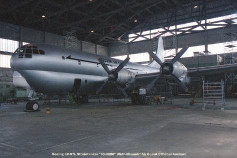001 Boeing KC-97L Stratotanker ''53-0280'' USAF-Missouri Air Guard @Michel Anciaux