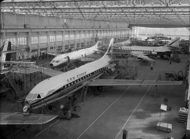001 Linea de produccion Sud Aviation SE-210 Caravelle