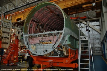 004 center section of Airbus A320-214 n°5830 for Citilink Garuda Indonesia © Michel Anciaux