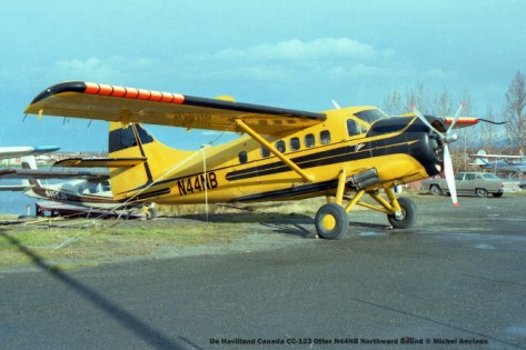 005 De Havilland Canada CC-123 Otter N44NB Northward Bound © Michel Anciaux