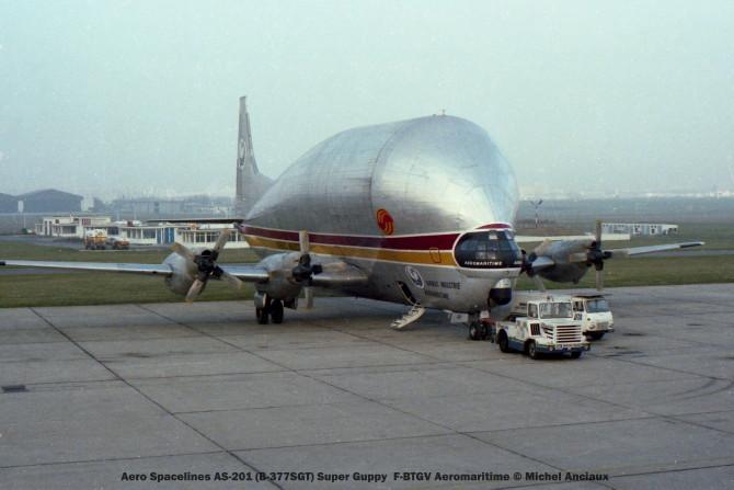 01 Aero Spacelines AS-201 (B-377-SGT) Super Guppy F-BTGV Aeromaritime © Michel Anciaux