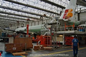 011 Airbus A320-216 n°5815 for Iberia Express © Michel Anciaux