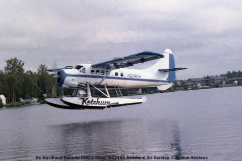 012 De Havilland Canada DHC-3 Otter N234KA Ketchum Air Service © Michel Anciaux
