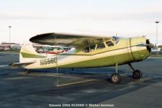 037 Cessna 195A N1556D © Michel Anciaux