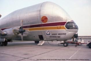 04 Aero Spacelines AS-201 (B-377-SGT) Super Guppy F-BTGV Aeromaritime © Michel Anciaux