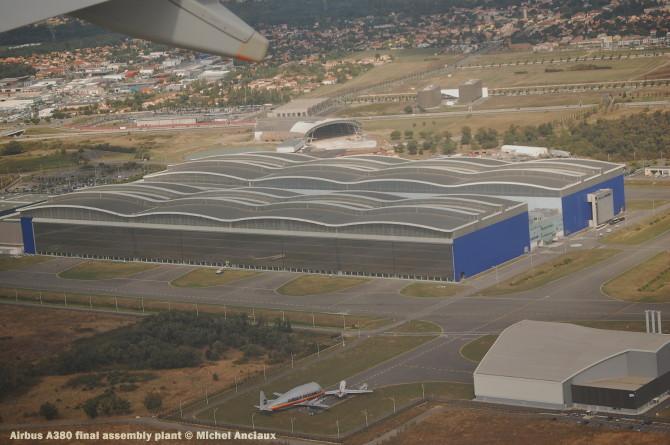 046 Airbus A380 final assembly plant © Michel Anciaux