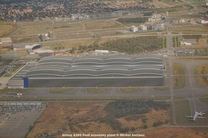 047 Airbus A380 final assembly plant © Michel Anciaux