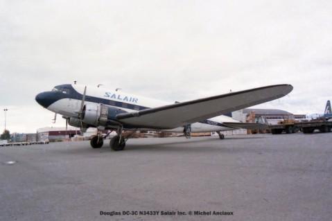 048 Douglas DC-3C N3433Y Salair Inc. © Michel Anciaux