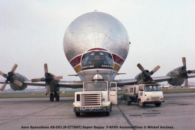05 Aero Spacelines AS-201 (B-377-SGT) Super Guppy F-BTGV Aeromaritime © Michel Anciaux