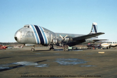 050 Aviation Traders ATL-98 Carvair N83FA lsd to Kodiak Western Airlines © Michel Anciaux