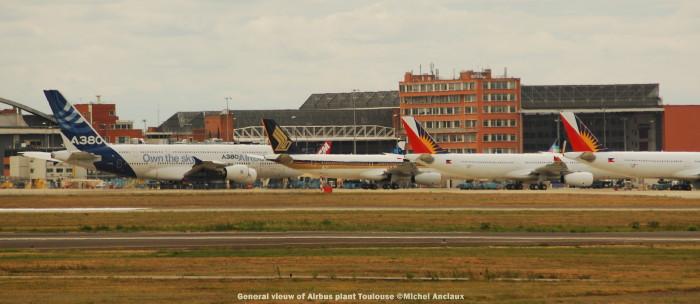 054 General vieuw of Airbus plant Toulouse ©Michel Anciaux