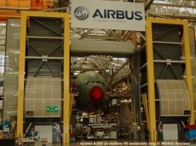 062 Airbus A380 in station 40 assembly ring © Michel Anciaux