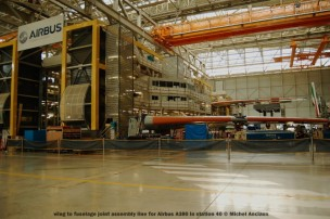 067 wing to fuselage joint assembly line for Airbus A380 at station 40 © Michel Anciaux
