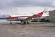 101 Convair CV-580 N5820 Seair Alaska Airlines © Michel Anciaux