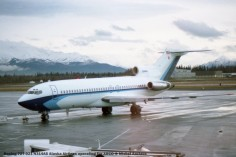 106 Boeing 727-021 N314AS Alaska Airlines operating for ARCO © Michel Anciaux