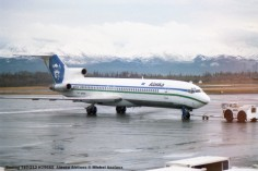 107 Boeing 727-212 N296AS Alaska Airlines © Michel Anciaux