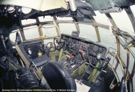 116 Boeing C-97L Stratofreighter N4580Q Stratolift Inc. © Michel Anciaux