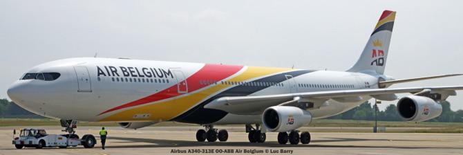 DSC05752 Airbus A340-313E OO-ABB Air Belgium © Luc Barry