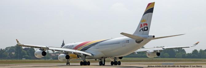 DSC05758 Airbus A340-313E OO-ABB Air Belgium © Luc BarryLuc Barry