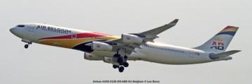 DSC08013 Airbus A340-313E OO-ABB Air Belgium © Luc Barry