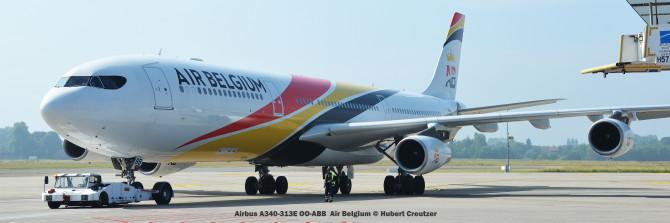 DSC_3229 Airbus A340-313E OO-ABB Air Belgium © Hubert Creutzer