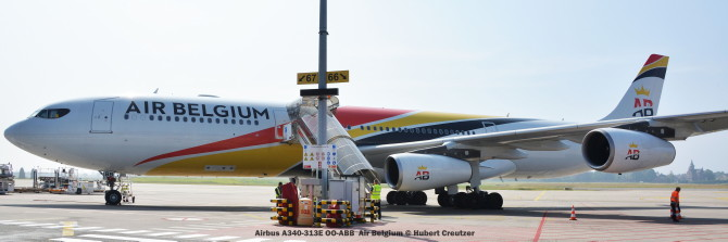 DSC_3243 Airbus A340-313E OO-ABB Air Belgium © Hubert Creutzer