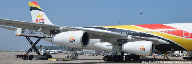 DSC_3264 Airbus A340-313E Air Belgium © Hubert Creutzer