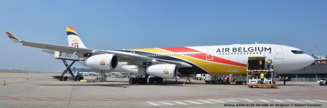 DSC_3267 Airbus A340-313E Air Belgium © Hubert Creutzer