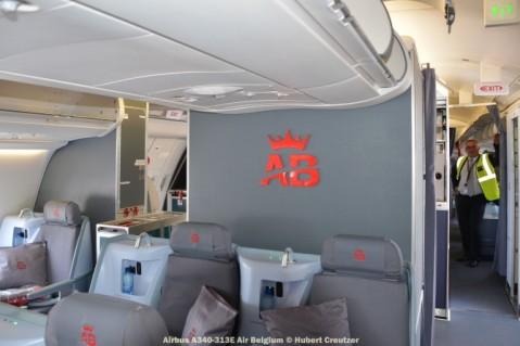 DSC_3277 Airbus A340-313E Air Belgium © Hubert Creutzer