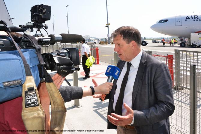 DSC_3290 Jean-Jacques Cloquet, managing director of Brussels South Charleroi Airport © Hubert Creutzer