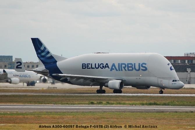 img210 Airbus A300-600ST Beluga F-GSTB (2) Airbus © Michel Anciaux